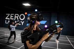 Saudi Arabia's first multi-player VR gaming in Riyadh